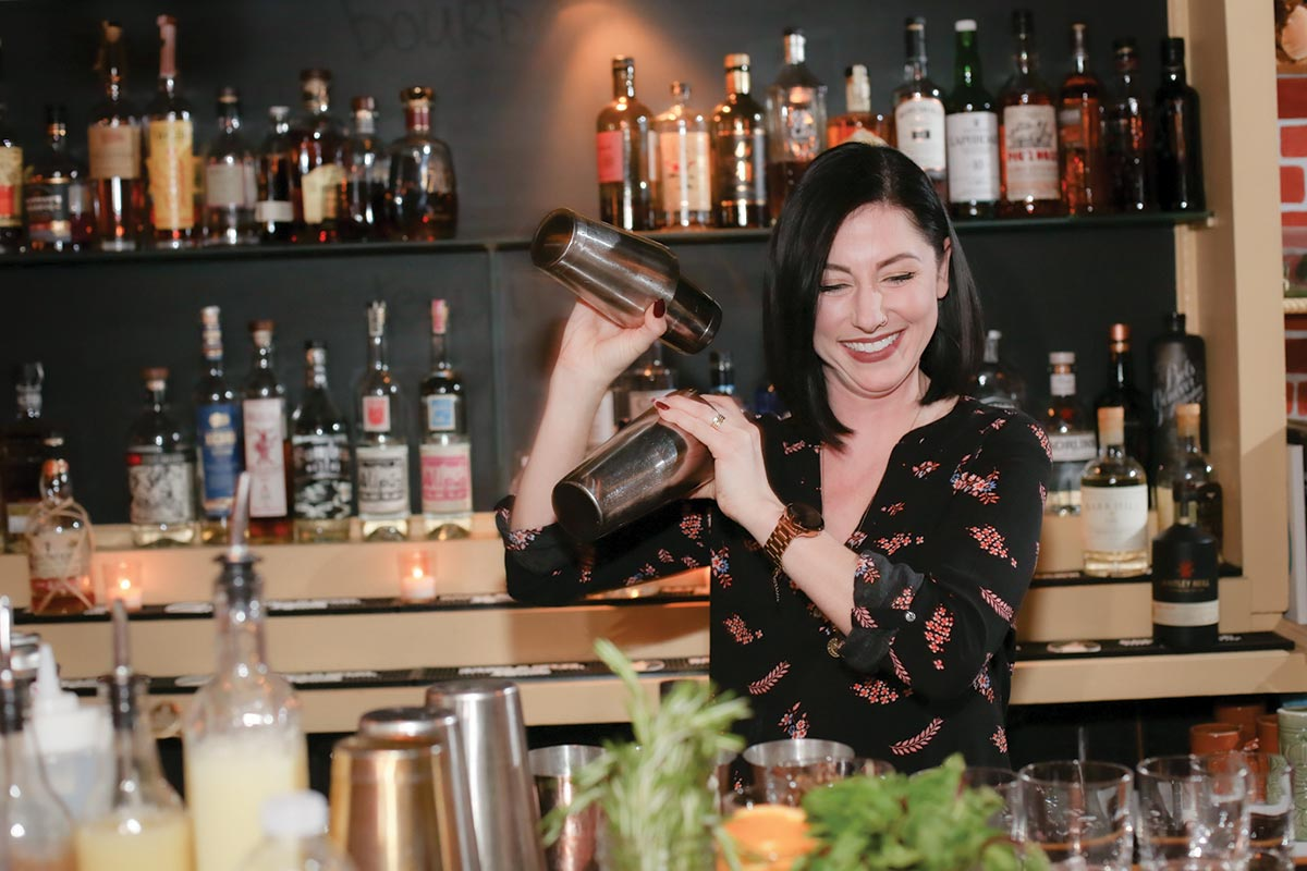 Five Compete in Providence Craft Cocktail Challenge