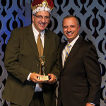 The RI Hospitality Association Man of the Year, Craig Sculos, Vice President and General Manager, Twin River Casino.