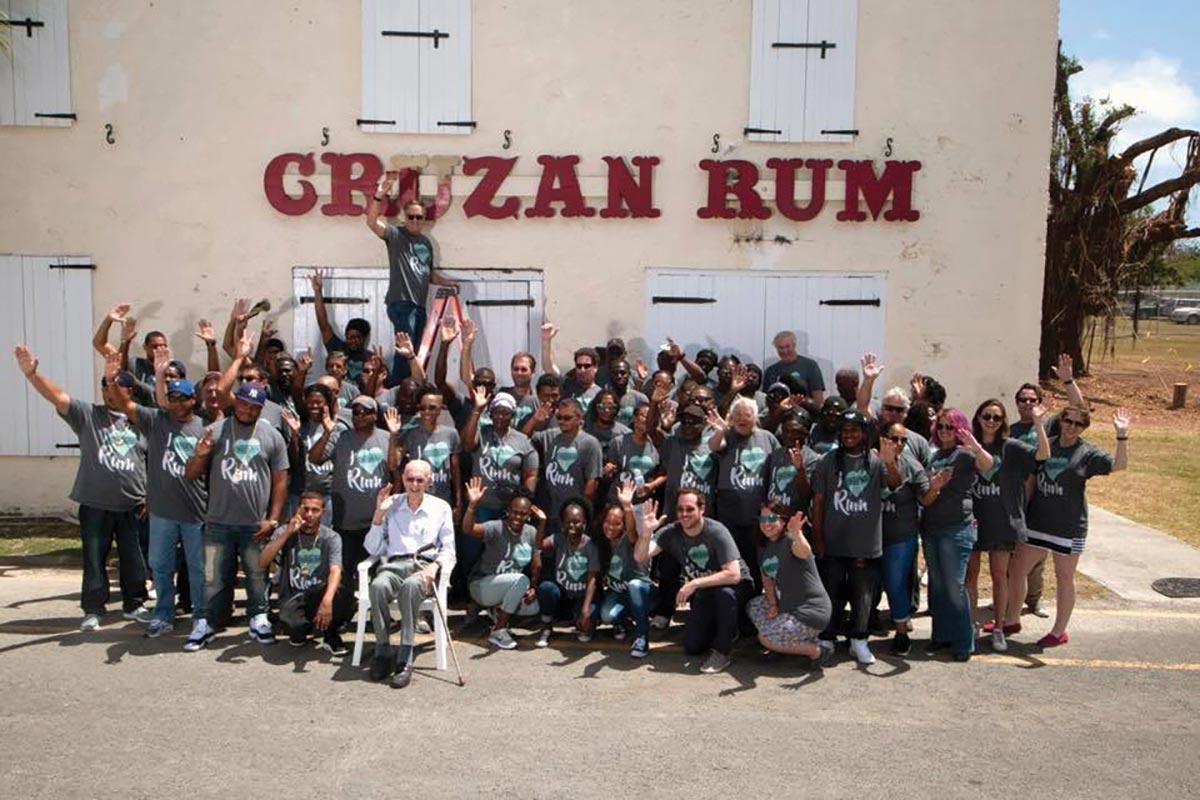 Cruzan Rum Establishes Island Community Aid Efforts