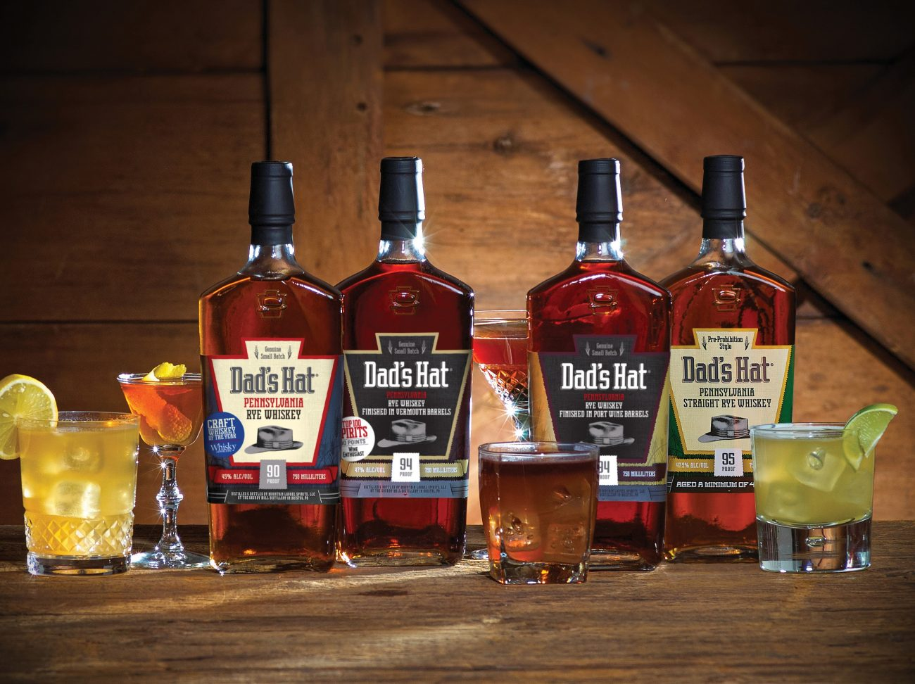 Highland Imports Launches Dad's Hat Pennsylvania Rye Whiskey