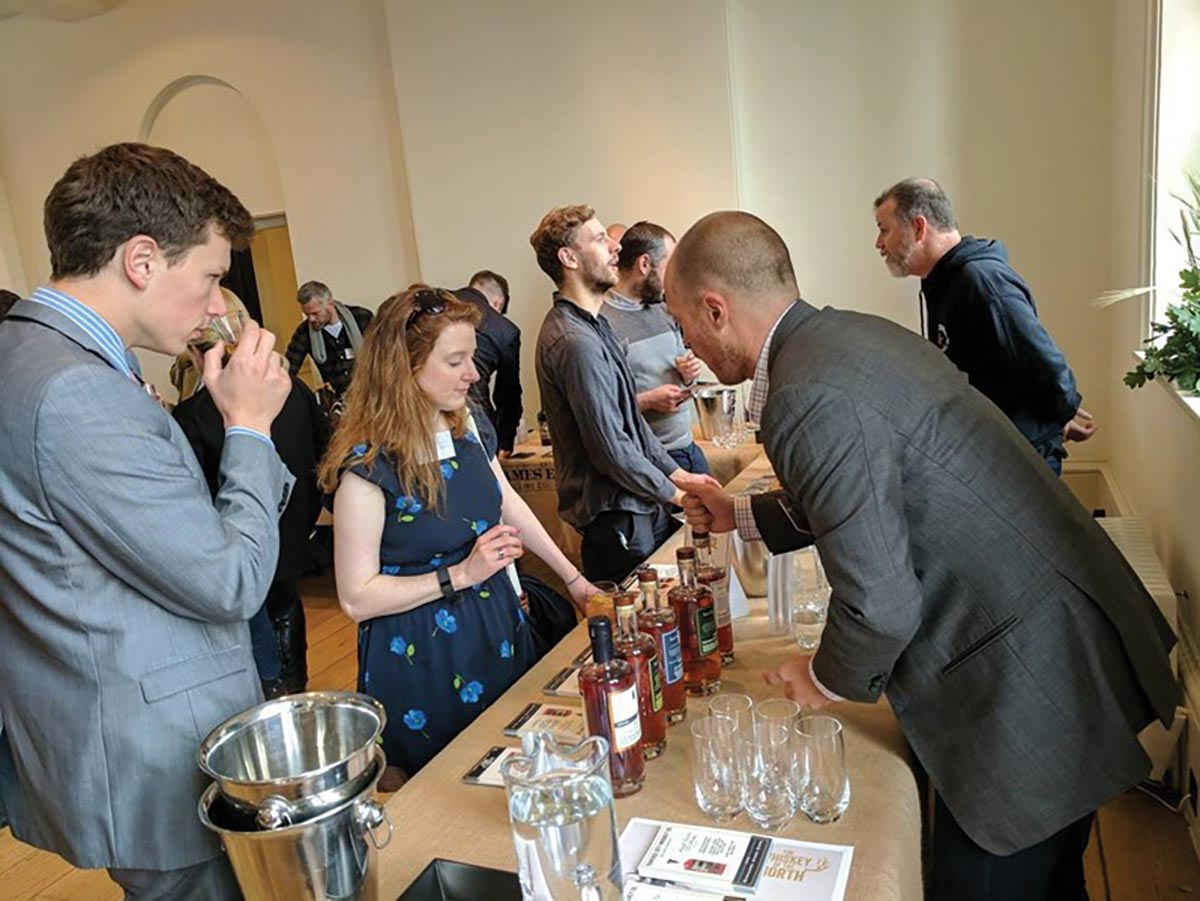 Distilled Spirits Council Showcases American Spirits in UK