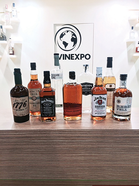 DISCUS Showcases American Spirits in France
