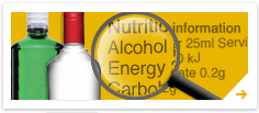 Diageo to Update Labels with Nutritional Information