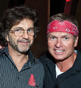 Nashville singer/songwriters Phil O'Donnell and Tim James.