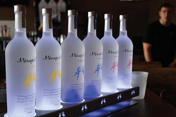 Ménage à Trois Vodka Launches in Connecticut at Prime One Eleven