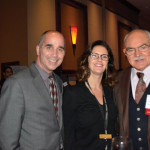 Michael Sabitoni, RIHA Board Member; Kim Ward, Twin River Casino; and Karl Guggenmos, Education Ambassador of the Year award winner.