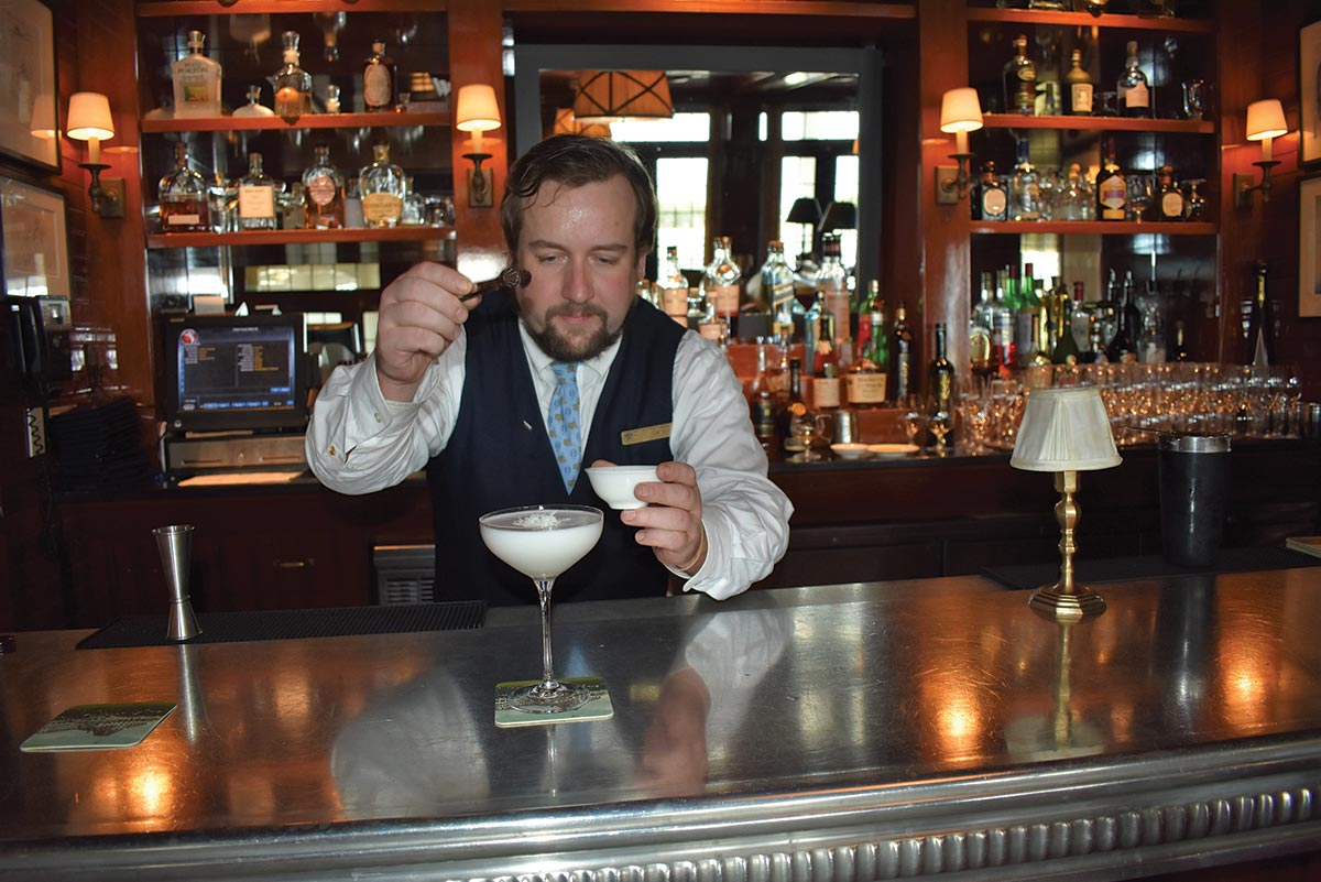 Serving Up: Snow Day Martini at The Ocean House