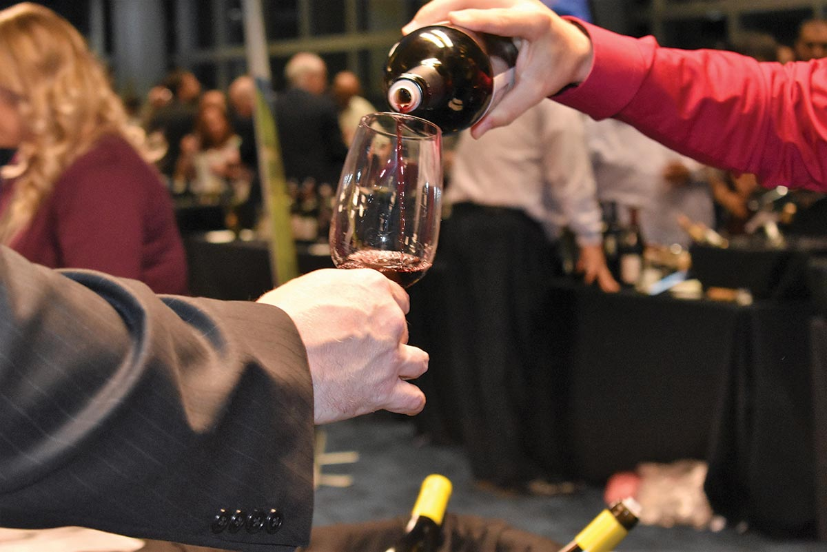 Allan S. Goodman Hosts Fall Wine Tasting at Rentschler Field