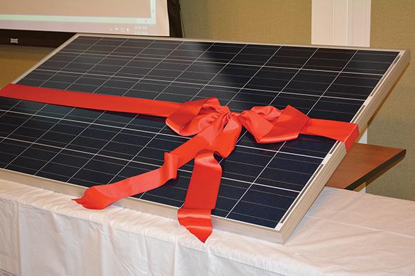 Ribbon Cutting Ceremony Highlights Environmental Goals