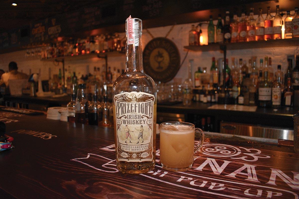 Prizefight Irish Whiskey Tasting Held in New Haven