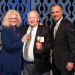 The RI Hospitality Association Lifetime Achievement Award went to Roger Payette of Kay's Restaurant, who has spent nearly 50 years as general manager of the Woonsocket eatery.