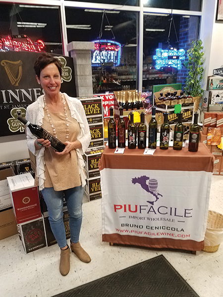Dana Stucke, Employee, Putnam Spirits in Putnam on March 3.