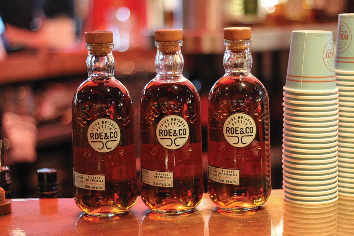 Diageo Launches New Irish Blended Whiskey