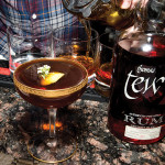 Newport Distilling Co.'s Thomas Tew Rum with a creation by Jonathan Dille, The Grange, Providence.