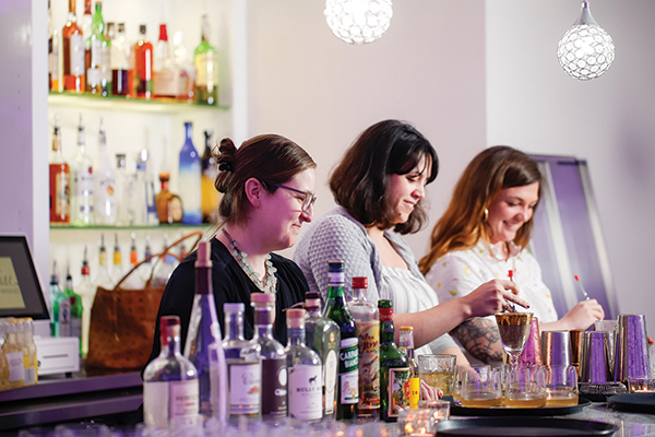 Dinner by Dames Creates Cocktails and Cuisine for a Cause
