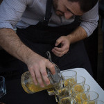 Paul Sevigny creates cocktails with Disaronno.