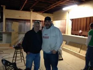 Don and Steve Daggett of Sandy's Lighthouse Bar & Grill in Misquamicut