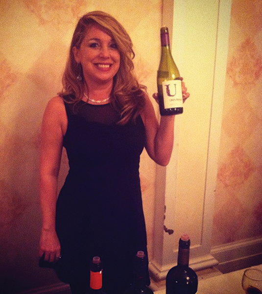Wine and spirits professional Donna Taylor representing Undurraga Wines during the March charity event.
