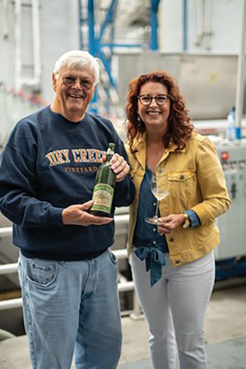 Dry Creek Vineyard Celebrates Historic 50th Harvest