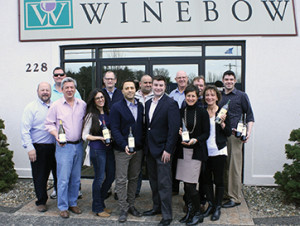 All with Winebow expect where indicated: Bob Andrighetti, Sales Assoc.; Jason Vocke, Sales Assoc.; Steve Brodeur, Sales Assoc.; Marissa Marchese, Sales Assoc.; Phil Miller, Sales Assoc.; Carl Vitale, Brand Manager and Key Account Specialist, Leonardo LoCascio Selections; Steve Segretario, Sales Assoc.; John Carey, Northeast Sales Manager, Duckhorn Wine Company; Frank Haas, Sales Manager; Susan McQuade, Brand Manager, Duckhorn Wine Company; Jim Fast, Sales Assoc.; Joanne Davis, Sales Assoc.; and Jeff Juliano, Sales Assoc.