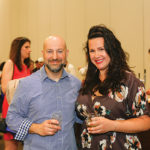 Festival organizers David Dadekian and Katie Kleyla, Eat Drink RI.