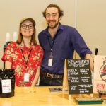 New Harvest Coffee's Sophie Short, Barista/Trainer and Sam McCaughey, Customer Relations Manager.
