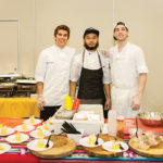 Los Andes' Brian Dinan, Sous Chef; William Peterson, Sous Chef; and Chris Wilson, Intern.