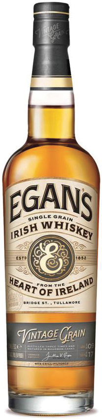 Egan's Introduces Vintage Grain Irish Whiskey
