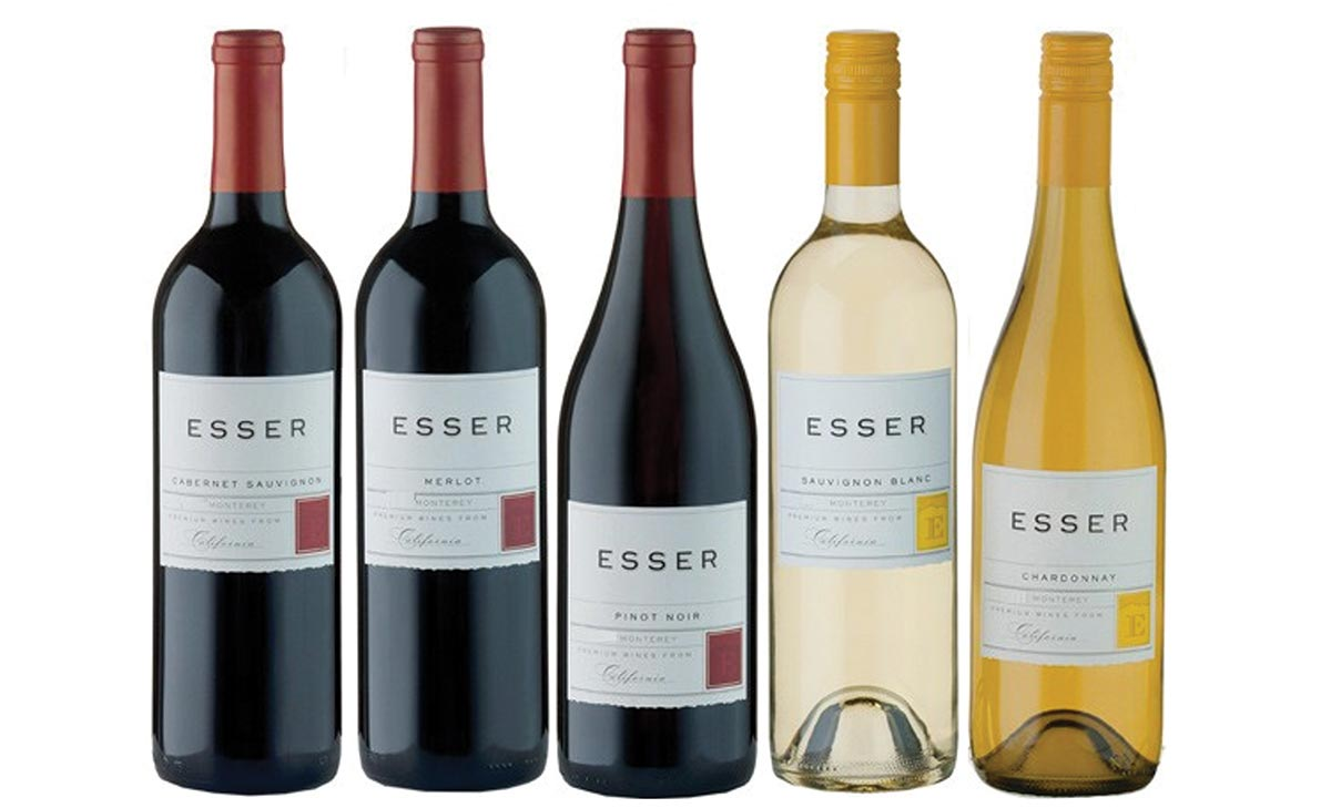 California's Esser Wine Varietals Added to MD&S Distributors