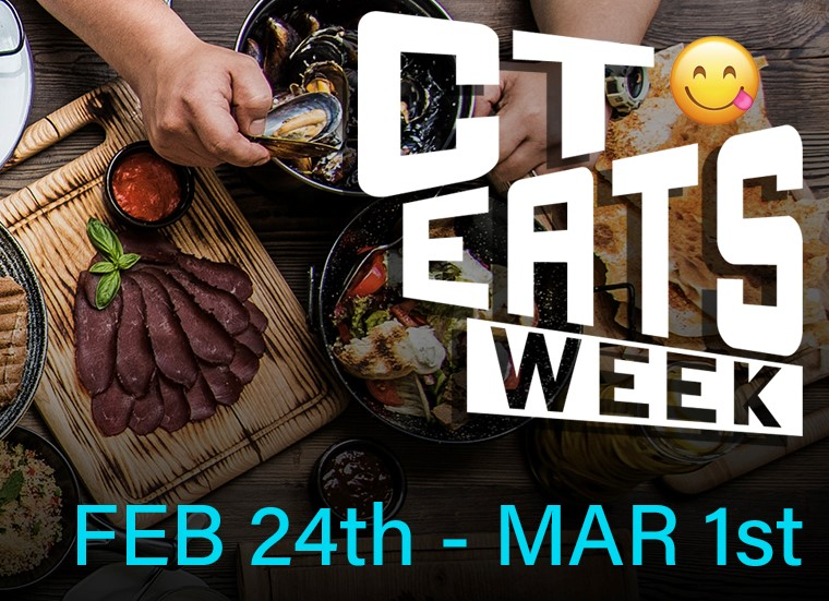 CT Eats Week Begins February 26 to Benefit Education Foundation