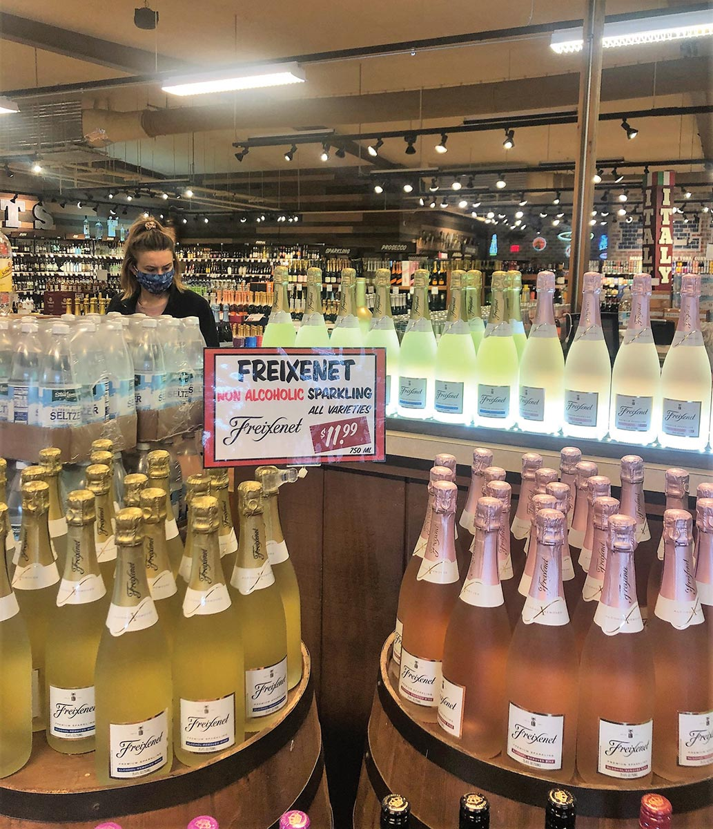 Freixenet Alcohol Free Premium Sparkling Showcased in Danbury