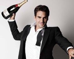 Federer Joins Moët & Chandon as New Brand Ambassador