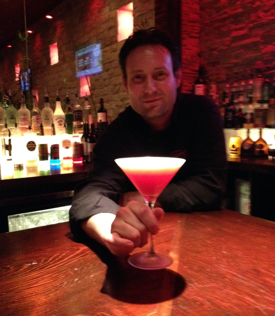 "Serving Up: Feng Asian Bistro's ""Orange Sunset Martini"""