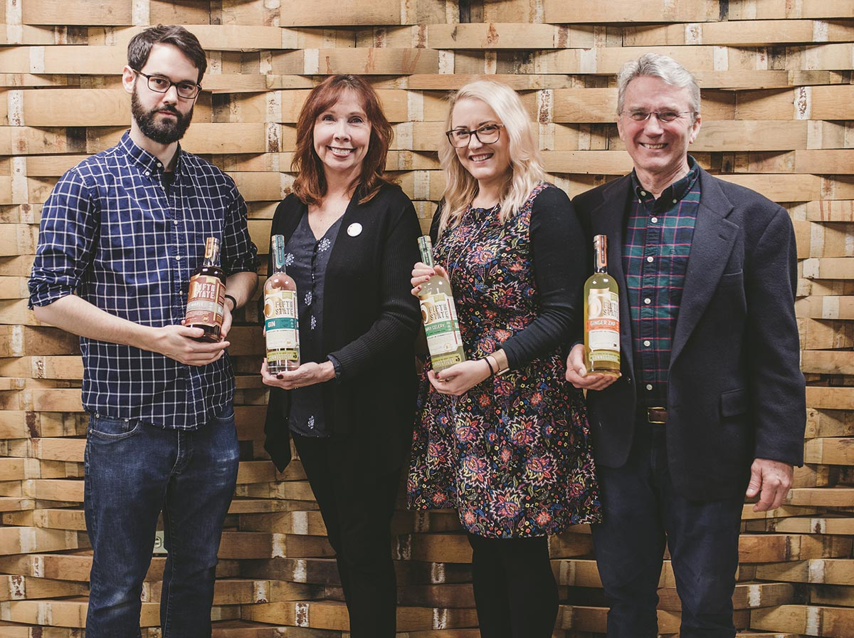 Fifth State Distillery Showcases Line to Distributor
