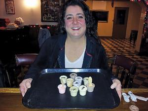 Bartender Brenda Baron
