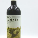 Isaac Fernandez Selección Finca la Mata 2014 in Ribera del Duero D.O. region, made with 100% Tint del Pais (Tempranillo) grapes. The wine is produced from Tempranillo grapes from two different vineyards with an average of 60-year-old vines.