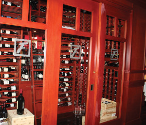The steakhouse offers The Fleming's 100, which is a collection of 100 wines by the glass. The wines are divided into varietals, traditional offerings, and marks upcoming wines that could be trend-setters.