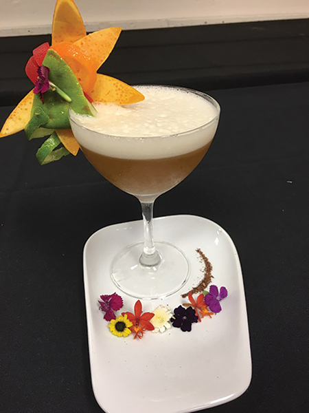 Martucci Represents the U.S. in Pan American Cocktail Competition