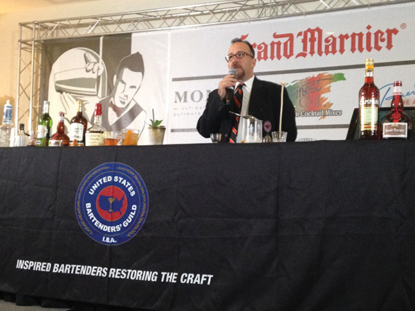 Frank Martucci presents seminar on American culture and history called The Cocktail, Proudly American. Origin and Evolution.