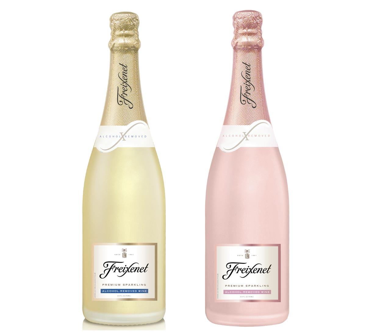 Freixenet Launches Alcohol-Removed Sparkling Offerings