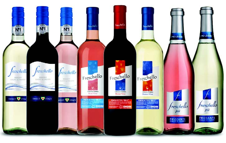 NEW PRODUCT: FRESCHELLO PRESENTS NEW  WINES FROM ITALY