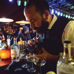 Competitor Chris Almeida, United States Bartenders Guild RI Chapter President. Photo by Jason Wessel of Gracie's.