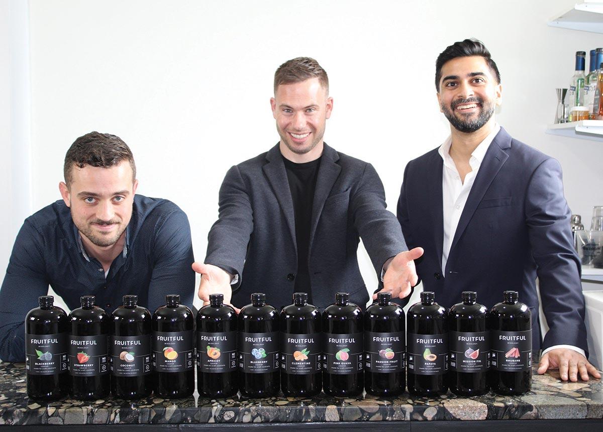 Connecticut Team Launches New Bar Mixer Line
