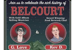 An evening with G. Love and Chef Kev D. @ Belcourt of Newport | Newport | Rhode Island | United States
