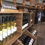 The wines at Newport Vineyards. Photo by Nancy Kirsch.