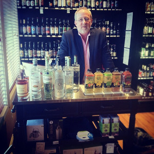 Alexei Beratis, partner at Inspired Beverage, Inc., a recent tasting.
