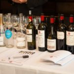 The line up Gérard Bertrand wines educationally tasted during the Master Class.