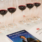 Samples, tasting guide and a copy of Gérard Bertrand's book greeted guests and the sales team.