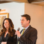 Saywell introduced Danielle Keating, Regional Sales Manager, Gérard Bertrand Wines.