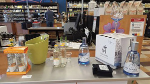 Gin Mare featured at Bottle Stop Wine & Spirit Superstore in Avon on August 27.